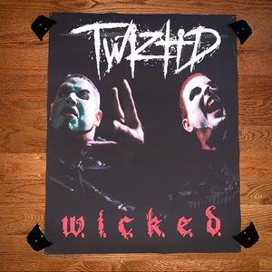 Other - Twiztid WICKED Psychopathic Records MNE Poster